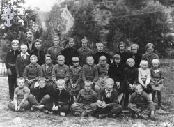 Brunkeberg skule 1936 - #KvH 054 b