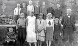 Bergstod skule hausten 1933