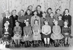 Brunkeberg skule 1954 - # KvH 002b