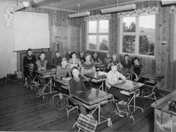 Brunkeberg skule 1956 - #003 b