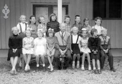 Brunkeberg skule 1958