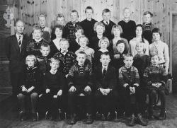 Brunkeberg skule 1962 63 - #KvH 090 b