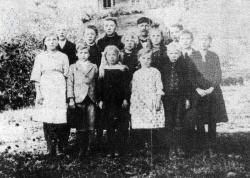 Fjågesund skule 1930 åra - # KvH 005 b