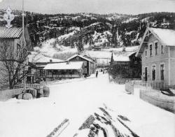 Postk Kviteseidbyen 1910 - KvH 02-061 b