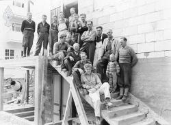 Arbeiderar på Kvitsund 1955 - #KvH 07-030 b