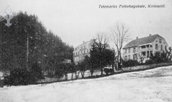 Utsund Folkehøgskulen kort bruka 1916 - #KvH 097 b