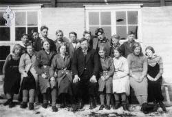 Vråliosen framhaldskule 1932 33 - #KvH 006 b