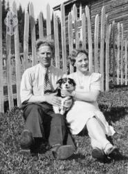 Andreas og Bertha Hauglid - #KvH 05-050 b