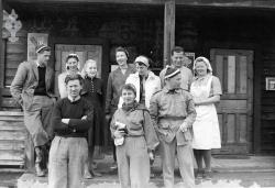 Brødrene Hauglid landhandel omlag 1950 - #KvH 09-094 b