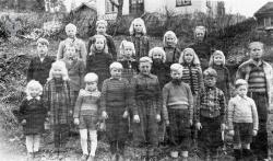 Brunkeberg skule 1945 46 - #KvH 136 b