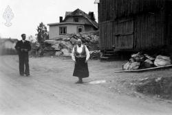 Brunkeberg omlag 1950 Olav Lauve Åse Kilen - #KvH 09-104 b