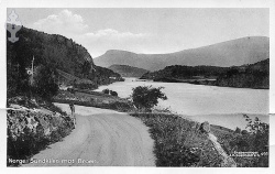 Sundkilen mot broen 1918 - #KvH 14-028 b