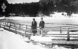 Flytebrua vinter1941 - #KvH 14-049 b