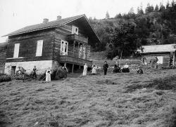 Bertoldbygningen på Kosi i Brunkeberg oml 1905 - #KvH 04-178 b