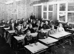 Brunkeberg skule 4 og 5  kl 1965 66 - #KvH 153 b