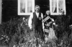 Guttorm og Guro Eikland på Eikland - #KvH 05-079 b