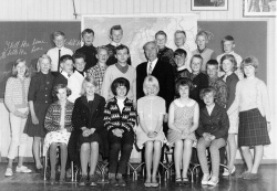 Haukom skule 6 klasse 1964 65 - #KvH 155 b
