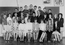 Haukom skule 7 klasse 1964 65 - #KvH 156 b