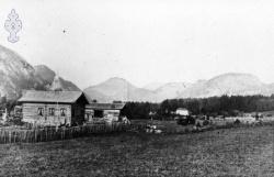 Ståland i Kviteseid omlag 1860 - KvH 04-040 b