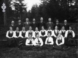 Brunkeberg songkor 1918 - #KvH 03-018 b