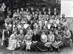 Kvitsund framhaldskulen 1957 - #KvH 073 b