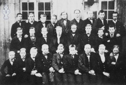 Kviteseid seminar 1869 - #KvH 074 b