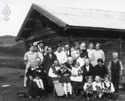 70-årsdagen til Torjus og Marte Rue 1935 - #KvH 08-018 b