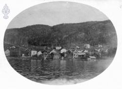 Byen frå fjorden Truleg frå 20talet - #KvH 02-075 b