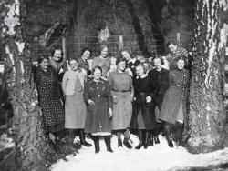 Vevkurs 1940 på Avholdslokalet - #KvH 078 b