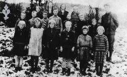 Nordre Morgedal skule 1932 - #KvH 026 b