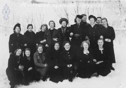 Syskule på Moen 1938-39 - #KvH 083 b