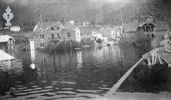 Flaum i Kviteseidbyen 1927 - #KvH 02-112 b