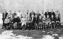 Kviteseid Middelskule 1944 - #KvH 088 b