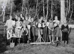 4H-Klubben i Haukom 1951 - #KvH 03-032 b