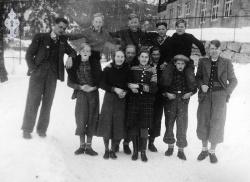 Middelskulen i Kviteseid 1937 38 - #KvH 089 b