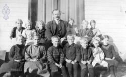 Vråliosen skule småskulen 1914 - #KvH 039 b