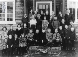 Brunkeberg skule 1925 26 - #KvH 048 b