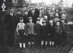 Brunkeberg skule 1934 - #KvH 050 b