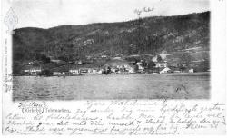 Postkort Kviteseidbyen 31101903 - KvH 02-001 b