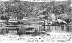 Postkort Kviteseidbyen 28101905 - #KvH 02-002 b