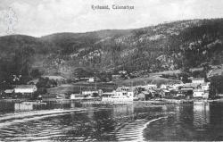 Postk Kviteseidbyen - KvH 02-003 b