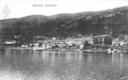Postk Kviteseidbyen 05091910 - KvH 02-005 b