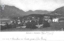 Postk Kviteseidbyen 11071907 - KvH 02-006 b