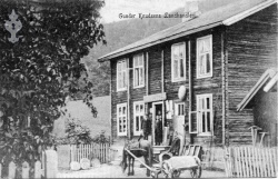 Postk Kviteseidbyen Eneret 1911 - KvH 02-008 b
