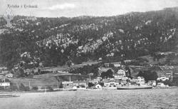 Postk Kviteseidbyen 1911 -  KvH 02-009 b