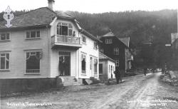 Postk Kviteseidbyen - KvH 02-018 b